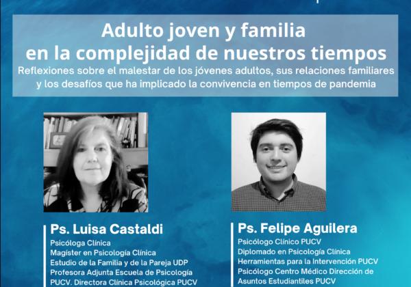 """CICLO DE CONVERSACIONES ABIERTAS 2021-2022: """"Adulto joven y familia en la complejidad de nuestros tiempos"""""""