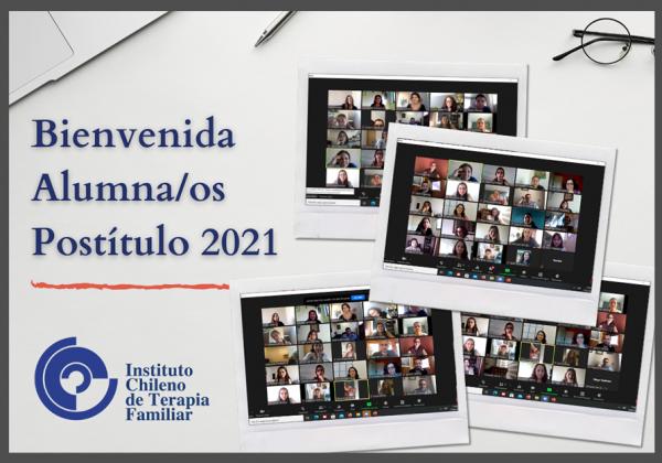 Mensaje de Bienvenida Alumnas/os Postitulo 2021